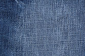 Blue jeans closeup — Stock Photo