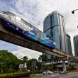 Stock Photo: Monorail in KualLumpur