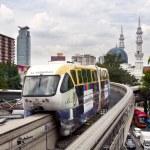 Monorail in Kuala Lumpur — Stock Photo
