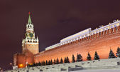 Spasskaya tower of Moscow Kremlin — Stock Photo