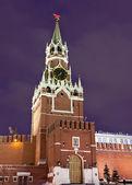 Spasskaya torre de moscow kremlin — Fotografia Stock