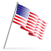 American Flag — Stock Vector