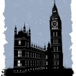 Stock Vector: Big ben, london, england