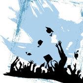 Graduation party — Stock Vector