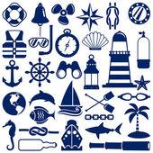 Es nautiques — Vecteur