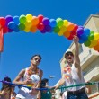 Tel Aviv gay pride - Foto Stock