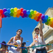 Tel Aviv gay pride - Stockfoto