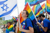 Tel Aviv gay pride — Stock Photo