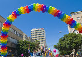 Tel Aviv gay pride — Foto Stock