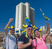 Tel Aviv gay pride party — Stock Photo