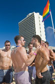 Tel Aviv gay pride party — Stock Photo