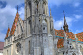 Budapest Matthias church — Stock Photo