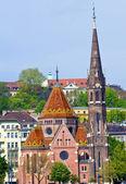 Iglesia reformada budapest buda — Foto de Stock
