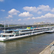Budapest riverboat — Stock Photo #11577346