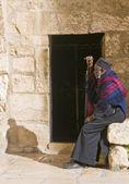 Ethiopian priest — Stock Photo