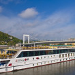 Stock Photo: Budapest riverboat
