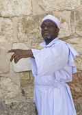 Nigerian pilgrims — Stock Photo