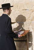Passover in the Western wall — Stock Photo