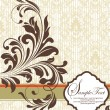 Vector floral background with place for your text - 