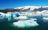 Glaciärlagunen — Stockfoto