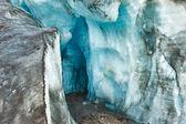 Jaskinia lodowa lodowiec — Zdjęcie stockowe