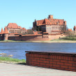 The old castle in Malbork - Poland. — Stock Photo #11316979