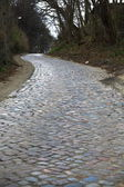 An old cobbled road — Stock Photo
