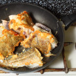 Stock Photo: Cod fish - fish fillets - to pan-fry sth