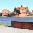 The old castle in Malbork - Poland. — Stock Photo #11789045