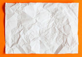 Crimp White Paper texture sheet — Stock Photo