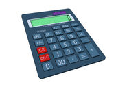 Calculator in 3D — Vector de stock
