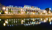 Bucharest at night — Stock Photo