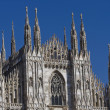 Milano dome detail — Stock Photo
