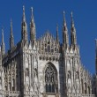 Milano dome detail — Stock Photo #11617803