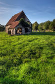 Old house old house in summer — Stock Photo