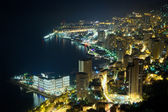Monaco, Monte Carlo by night — Stock Photo