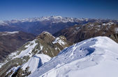 Alps mountains view — Stock Photo