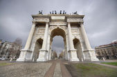Arch of Peace, Milano — Stock Photo