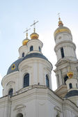 Church with a dome — Stock Photo