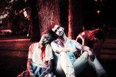 Halloween zombie — Stock Photo