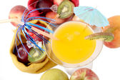 Colorful fruit cocktail — Stock Photo