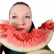 Royalty-Free Stock Photo: Delicious fresh watermelon isolated