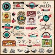 Premium quality collection of Vintage  labels - Photo