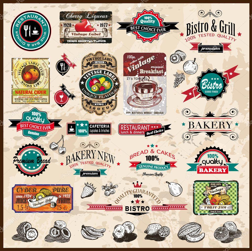 Vintage Restaurant Clipart