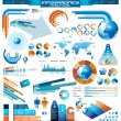 Premium infographics master collection — Stockvector #11152028