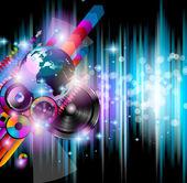 диско-клуб флаер — Cтоковый вектор
