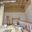 Commercial Space Construction Renovation — Stock Photo