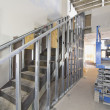 Steel Staircase Construction — Stock Photo