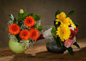 Bouquet in vase — Stock Photo