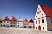 Main Square of European Old Town — Stock Photo